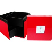 Square Lacquer Jewelry Box