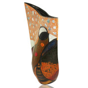 Curve Vase – Abstract Bird