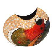Cresent Vase – Abstract Bird