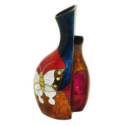Fusion Vase – Abstract Butterfly
