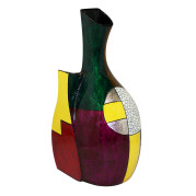Fusion Vase – Geometric Abstract