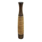 Large Bamboo Bowed Vase – Balance
