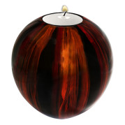 Lacquer Egg Shape Candle Holder Large – Modesty
