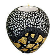 Lacquer Eggshell Candle Holder Medium – Eggshell Fragments