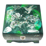 Mother of Pearl on Green